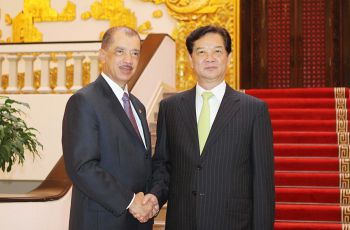 President Michel and Prime Minister Dung