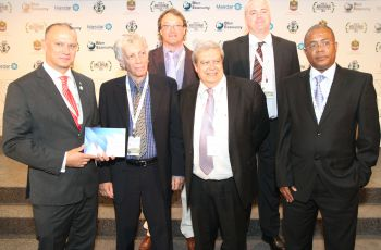 "Minister Jean-Paul Adam group launch 'Blue Economy Seychelles vision for a Blue Horizon"" book"