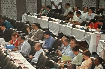 Seychelles delegation UN conference on Small Island Developing States (SIDS) in Apia, Samoa