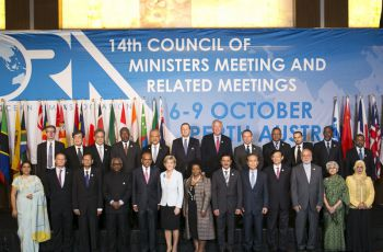 Group Photo of Ministerial Meeting (source IORA)