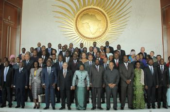 Minister Joel Morgan at African Union Summit- Addis Ababa 21-31 January 2016